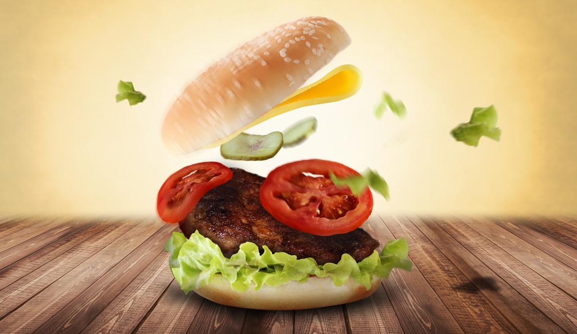chutný burger