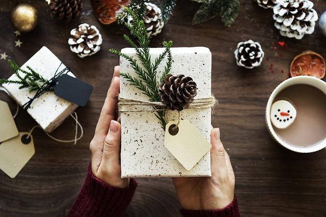 dekorace na dárku