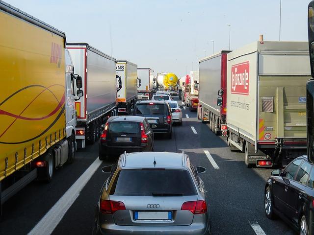 dopravní zácpa