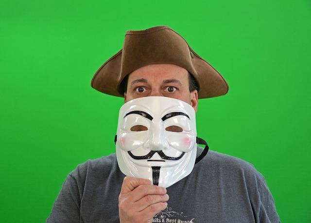 muž s maskou