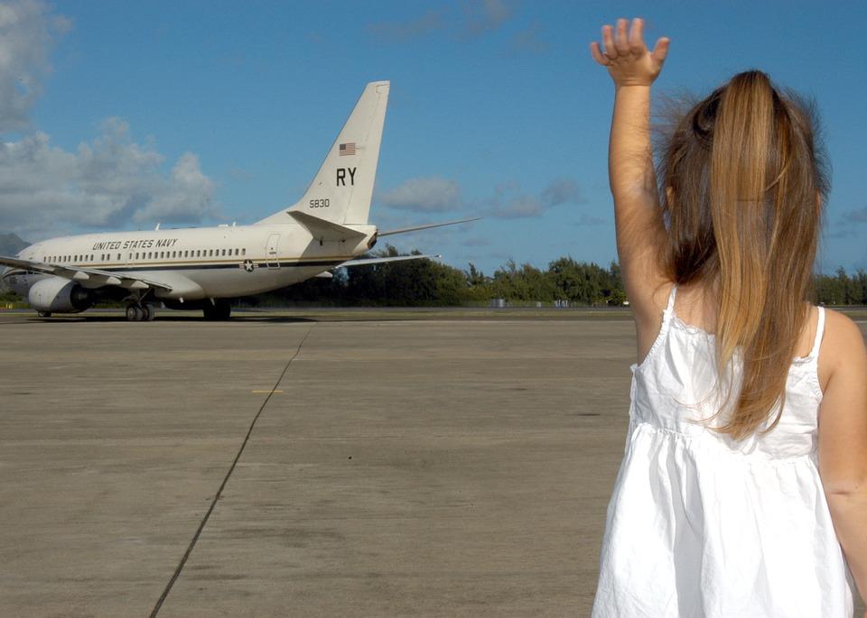 loučení s letadlem